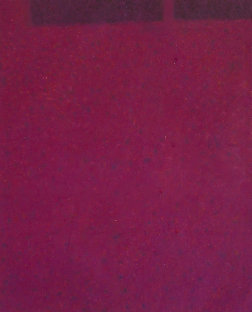 Memo_from Berlin, 2019, pastello ad olio su tela, 28x25 cm